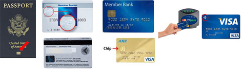 RFID & Secure chip examples